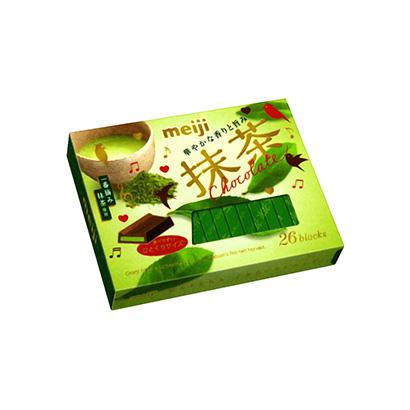 「抹茶 チョコレートBOX」発売(明治)