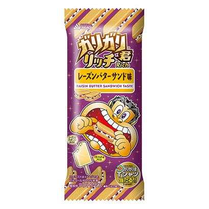 「ガリガリ君リッチ レーズンバターサンド味」発売(赤城乳業)