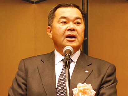 森吉平日本自動販売協会会長