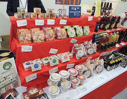 西日本オリジナル商品を開発(国分西日本展示会)