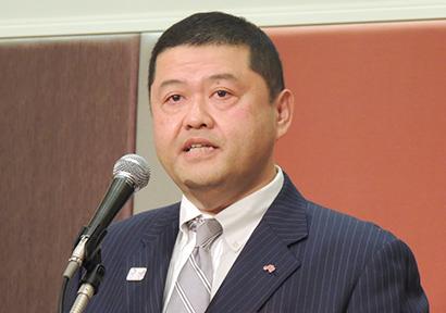 川井謙味の素中四国支店長