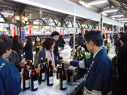 全国燗酒コンテスト実行委員会、幻のホームで熱燗イベント開催