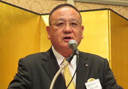 関西食品界新春の集い:近畿卸酒販組合 需要開発で業界発展を