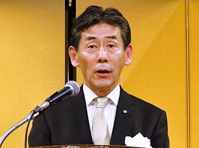 関西食品界新春の集い:キリン堂協栄会 「麒麟がくる」躍進の年