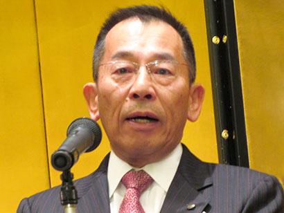 関西食品界新春の集い:大阪府食品卸同業会・日本加工食品卸協会 変化への対抗手…