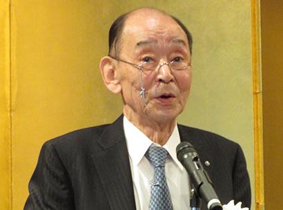 関西食品界新春の集い:大阪市中央卸売市場本場市場協会 一層の発展と活性化へ
