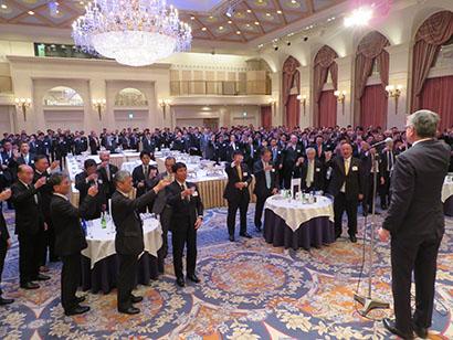 関西食品界新春の集い:変化・課題対応誓う