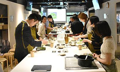 NOMON、医食同源料理セミナー開催 七草がゆで健康的食事を