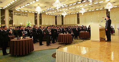 九州地区卸同業会、賀詞交換会を開催 子年は「変化の激しい年」