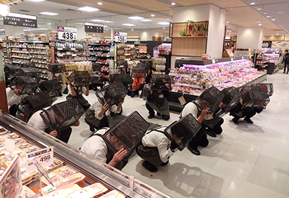 ダイエー、「防災啓発キャンペーン」神戸市内22店舗で実施