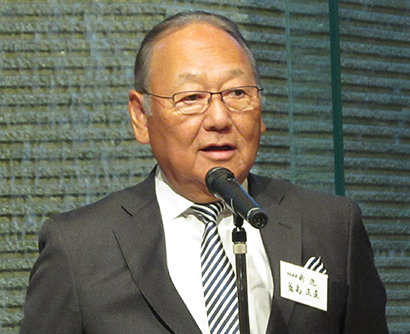 東京都漬物事業協同組合、賀詞交歓会を開催 天候異常に国家レベルの対応を