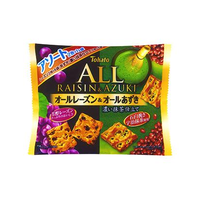 「ファミリーサイズオールアソート レーズン&あずき・濃い抹茶仕立て」発売(東…