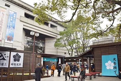 明智光秀誕生の地に11日オープンした「麒麟がくる 岐阜 大河ドラマ館」