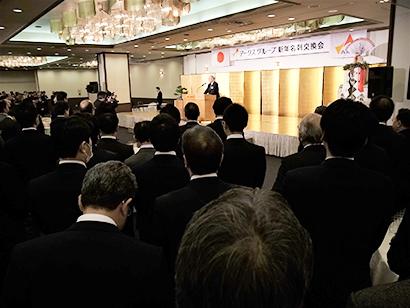 北海道新春特集:新春の集い=アークスグループ 積極的に前へ進む営業を
