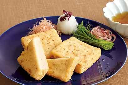 豆腐の土佐揚げ風