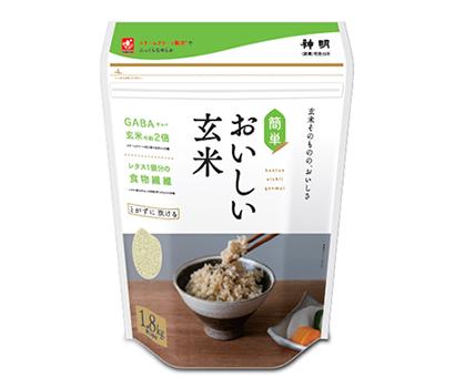 関西四国新春特集:スポーツ・健康=神明HD 玄米のイメージ変える