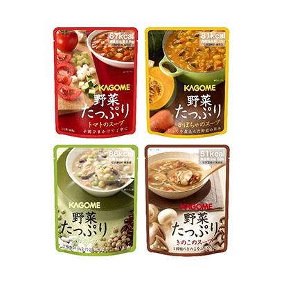 「野菜たっぷり トマト のスープ」発売(カゴメ)