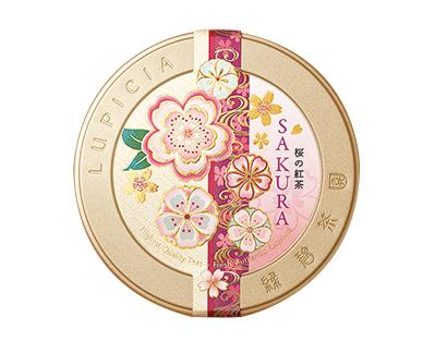 紅茶特集:ルピシア 「桜のお茶」シリーズ数量限定で販売 特別な味わい提供