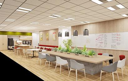 日本ケロッグ、オフィス空間などで働き方支援