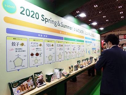 FOOD TABLE in JAPAN2020 大手食品卸、多彩な提案(上)