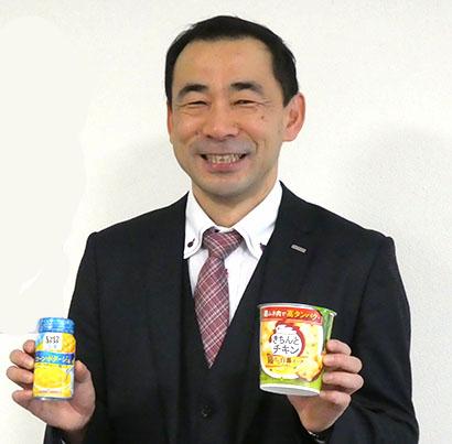 スープ食品事業の黒柳伸治部長