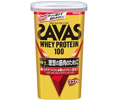 明治、「ザバス ホエイプロテイン100」シリーズ刷新 溶けやすい品質を実現