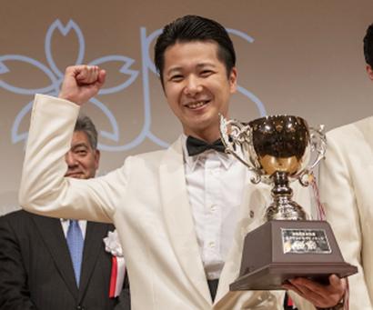 優勝カクテルをつくった坂本朋也氏