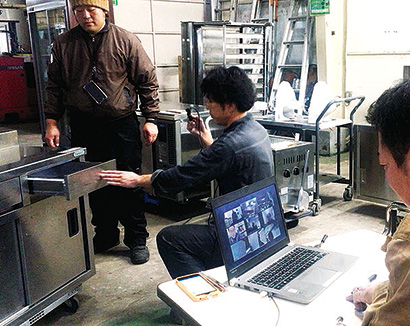 中古厨房機器information:テンポスバスターズ 「社内競り」で中古厨…