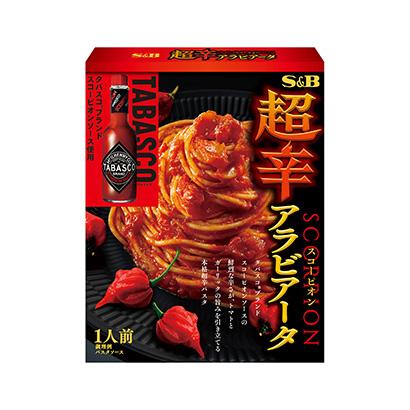 「超辛スコーピオン アラビアータ」発売(エスビー食品)