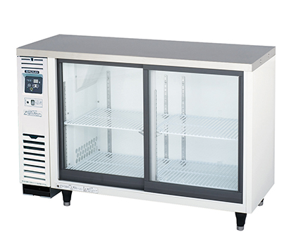 フクシマガリレイ、スライド扉小型冷蔵ケース刷新