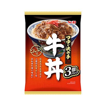 「どんぶり党 牛丼」発売(エスビー食品)