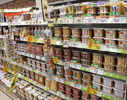 全国味噌特集:関東・静岡地区動向=多様化の味噌売場 個性生かすPR重要に