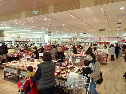 オークワ、「豊橋ミラまち店」順調スタート さらなる業容拡大へ意欲