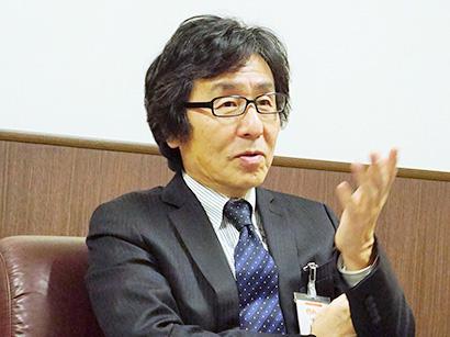 中部流通特集:ぎゅーとら・清水秀隆社長 今期は「準備」の期に