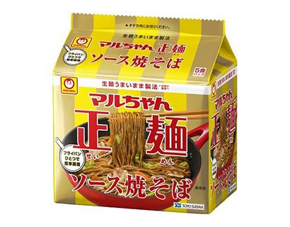 中部流通特集:即席麺動向=東洋水産 マルちゃん正麺袋ソース焼そばで活性化