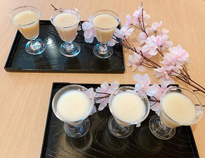 日本酒造組合中央会、日本の酒情報館で甘酒6種飲み比べ
