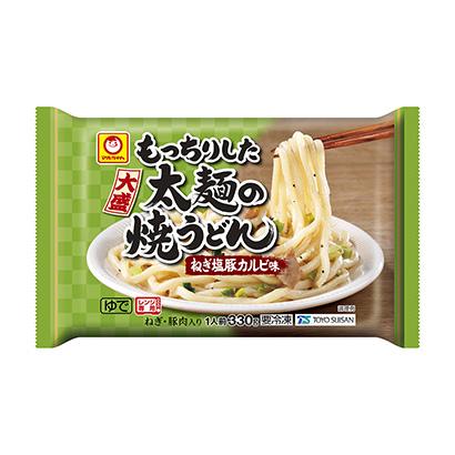 「マルちゃん もっちりした太麺の焼うどん ねぎ塩豚カルビ味」発売(東洋水産)