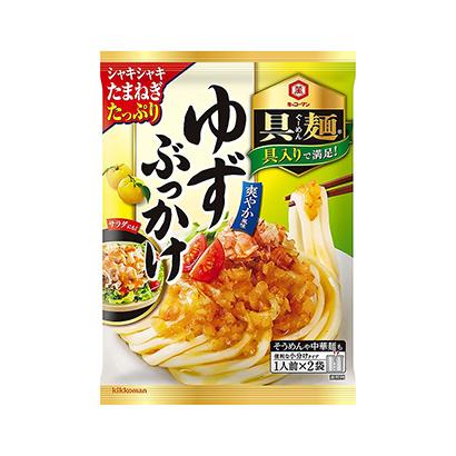 つゆの素特集:キッコーマン食品 「本つゆ」の成長続く 「具麺」で夏市場けん引
