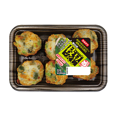 「ノンフライ 素材派 枝豆づくし」発売(カネテツデリカフーズ)