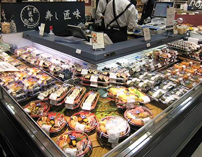 中部フーズ、名古屋デパ地下に持ち帰り寿司店開設