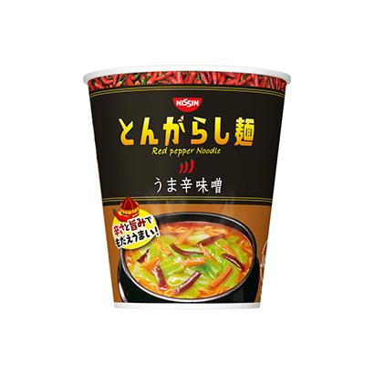 「日清のとんがらし麺 うま辛味噌」発売(日清食品)