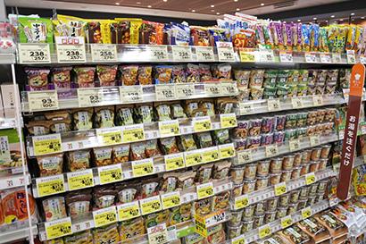 ◆即席味噌汁特集:右肩上がりで市場活性化 個食対応品と大容量がけん引
