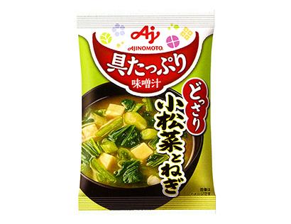 即席味噌汁特集:味の素社 シニア向けに減塩訴求