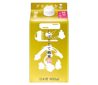 春季清酒特集:菊正宗酒造 キンパック900ml追加 トライアル取り込み狙う