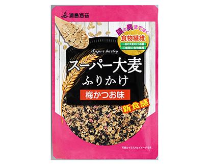 ふりかけ・お茶漬け特集:日本海水 「浦島海苔」ブランド強化