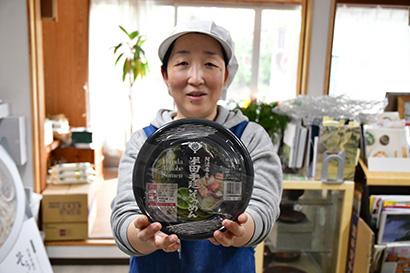北室白扇、ノンフライカップ麺「半田手延べそうめん」発売