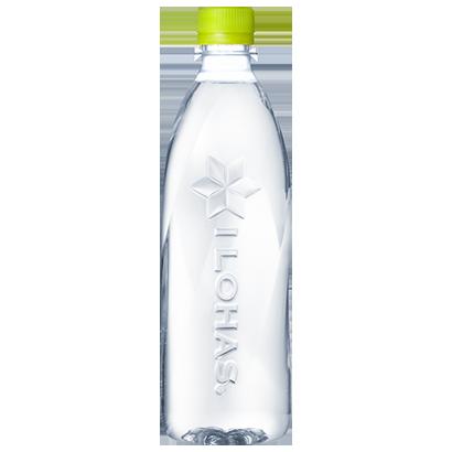 完全ラベルレス「い・ろ・は・す」 100%リサイクルPET ボトルで環境配慮