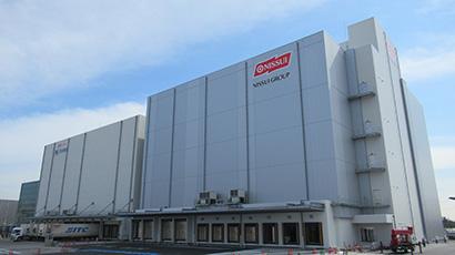日水物流、大阪舞洲物流センター2号棟開業 最大規模、ひっ迫に対応