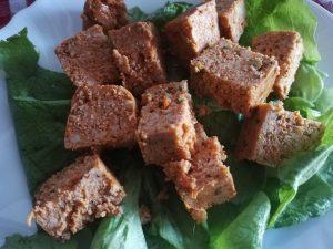 豆腐にトマト味やオリーブ味も イタリアのベジタリアンに大人気