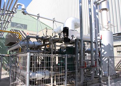 ガスコージェネレーションシステム